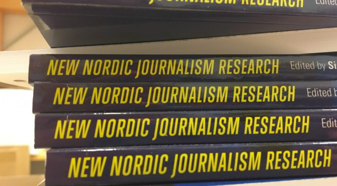 Follow the Nordic journalism research